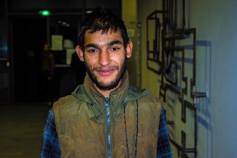 Lazar, 22 ans, devenu grâce à son relatif français le porte-parole du groupe